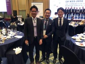 韓国外科学会総会1日目