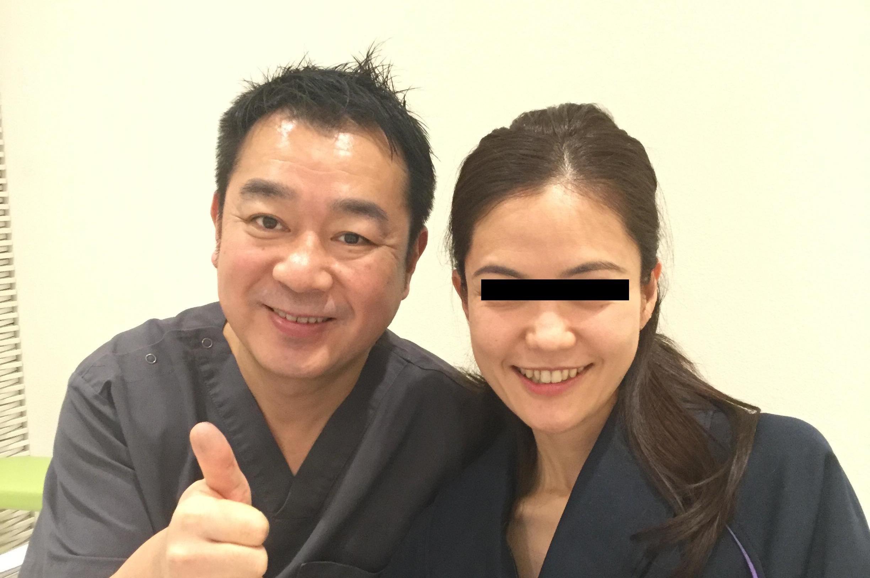 脂肪注入+糸による若返り:術後1か月、40代には思えない輝きの笑顔